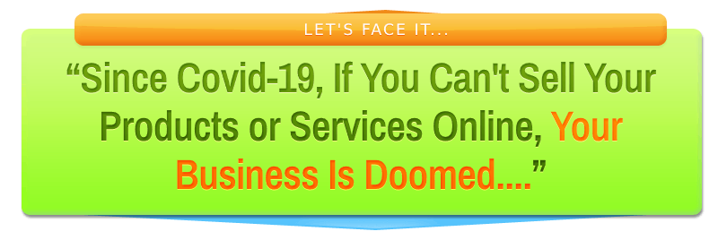 If you can't sell your products online your business is doomed - image