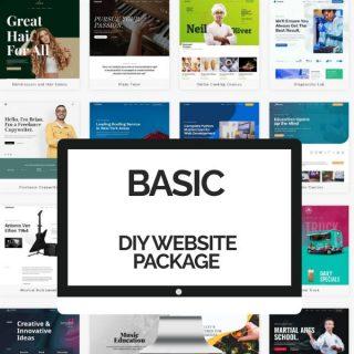 DIY Basic Website Packages