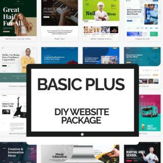 DIY Basic Plus Website Packages