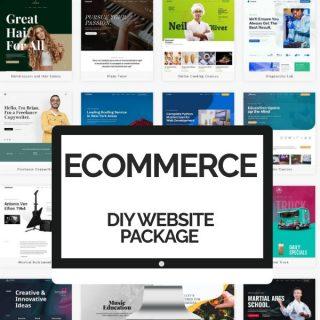 DIY Ecommerce Website Packages