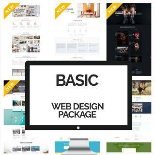 Basic Web Design Packages - Custom Website Design Service