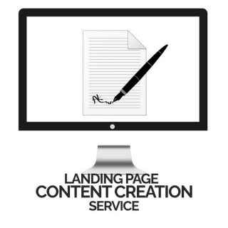 Landng Page Content Creation Service