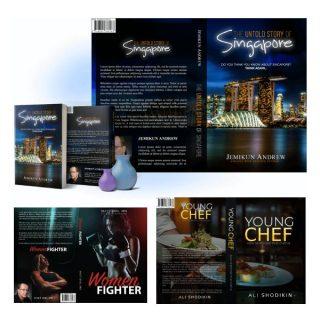 Printed Book Cover Design Service