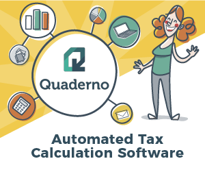 Make calculating local and international taxes easy with Quaderno - banner 300x250