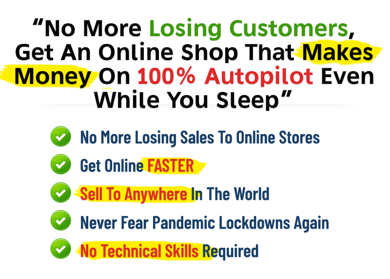 No more losing customers, get an online shop - image