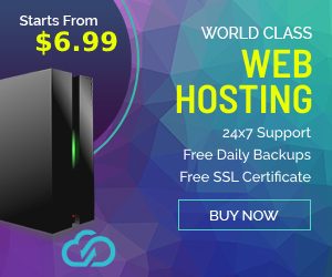 Web Hosting banner 300x250