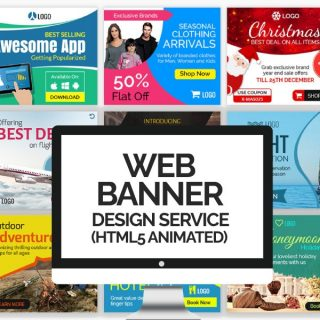 Web Banner Design Service - HTML5 Animated Banners - image
